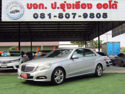 MERCEDES-BENZ E250 1.8 CGI BLUE EFFICIENCY รุ่น AVANTGARDE ปี2010 0