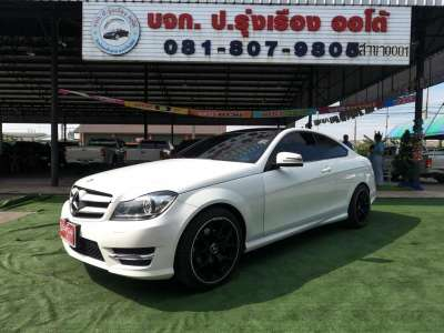 Mercedes Benz C180 1.6 CGi COUPE AMG Dynamic ปี2013 AUTO 0